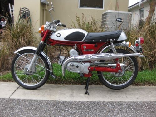1969 Suzuki AS50 Maverick Red photo