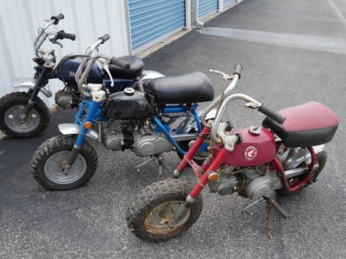 1970 Honda 3 HONDA Z50 MINI TRAILS for sale craigslist