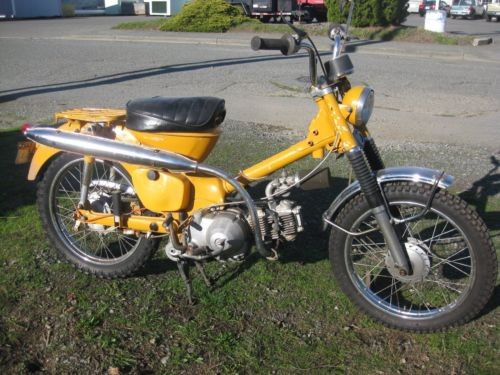 1970 Honda 90 Orange photo