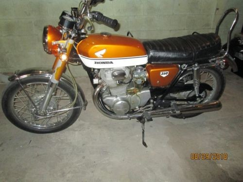 1970 Honda CB  photo