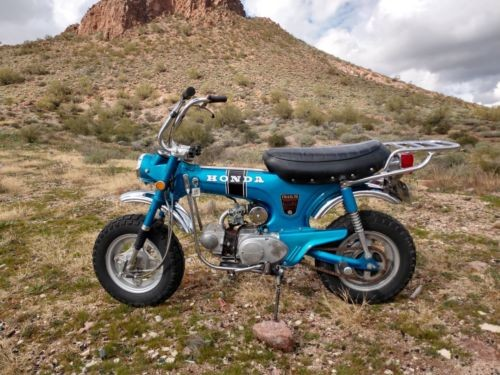 1970 Honda CT Blue photo