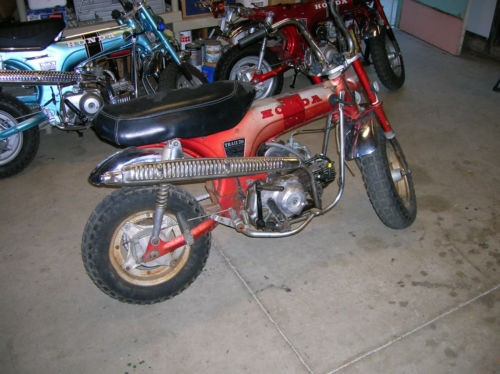 1970 Honda CT Red for sale