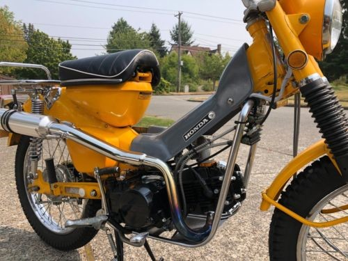 1970 Honda CT Yellow photo