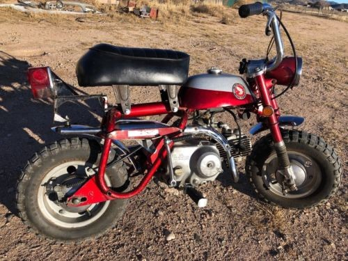 1970 Honda Honda Z50 Mini Trail Red photo