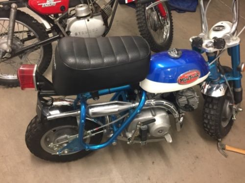 1970 Honda Honda Blue photo