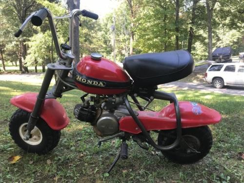 1970 Honda QA 50 red photo
