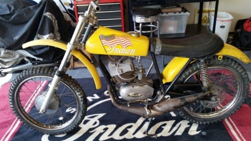 1970 Indian MX 100 Yellow for sale