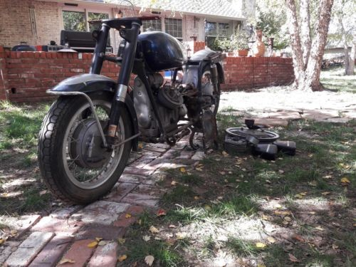 1970 Moto Guzzi Ambassador 750 Gray photo