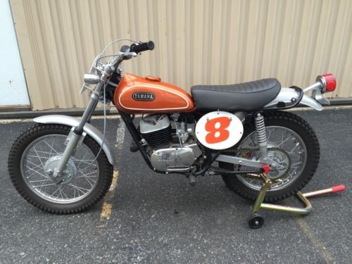 1970 Yamaha DT1-C Orange photo