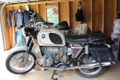 1971 BMW R-Series white photo