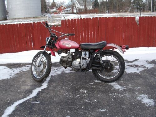 1971 Harley-Davidson SPRINT Red photo