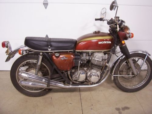 1971 Honda CB  photo
