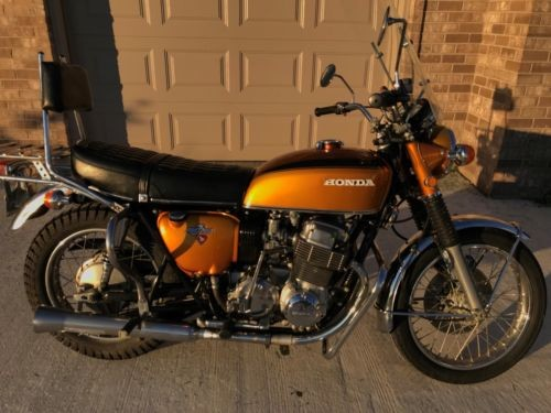 1971 Honda CB Gold photo