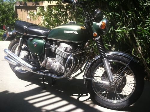 1971 Honda CB Green for sale craigslist