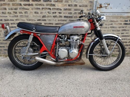 1971 Honda CB Red photo