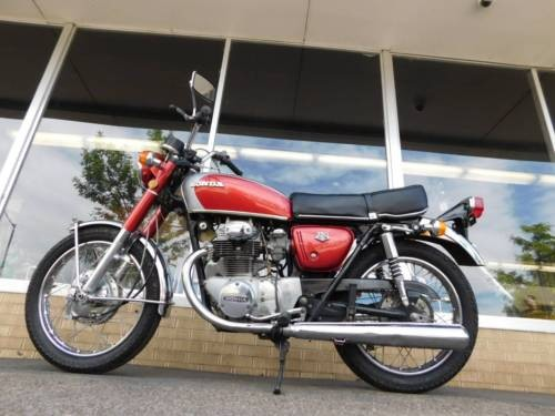 1971 Honda CB Red for sale craigslist