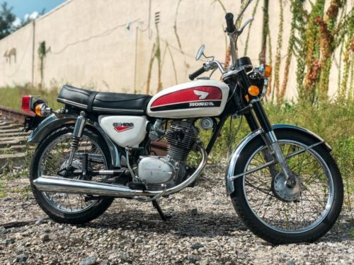 1971 Honda CB White photo