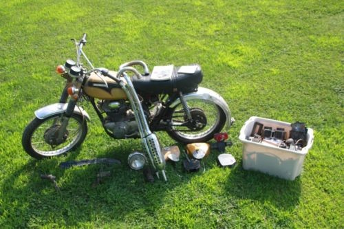 1971 Honda CL Gold for sale craigslist