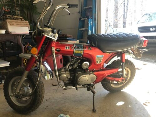 1971 Honda CT Candy Apple Red photo