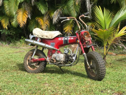 1971 Honda CT Red photo