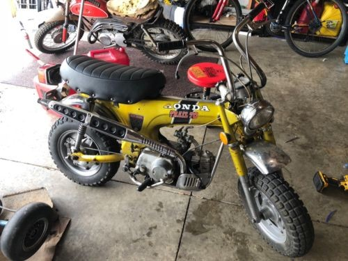 1971 Honda CT70H Gold photo