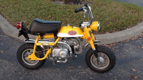 1971 Honda MINI TRAIL 50 YELLOW for sale