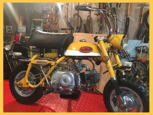 1971 Honda Z50A yellow for sale