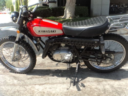 1971 Kawasaki Trail Boss Red for sale craigslist