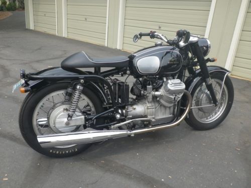 1971 Moto Guzzi Ambassador Black photo
