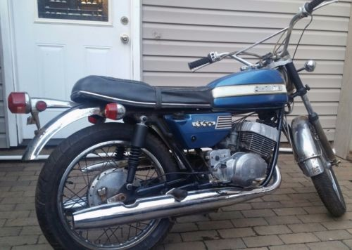 1971 Suzuki T350  photo