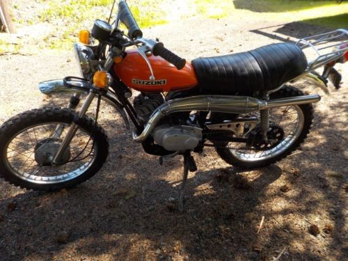 1971 Suzuki TC-90 Orange for sale craigslist