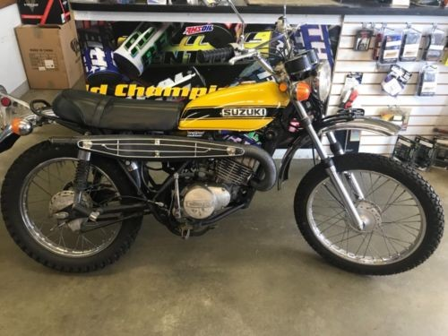 1972 Suzuki TS185 Blue craigslist | Used motorcycles for sale