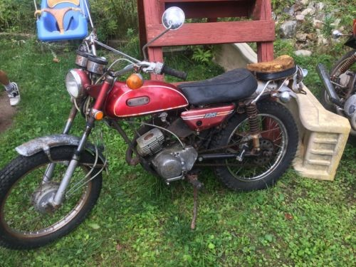 1971 Yamaha AT1C Brilliant Red for sale