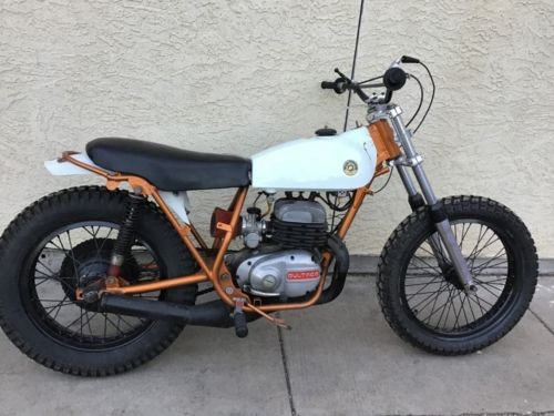 1972 Bultaco 90 white photo