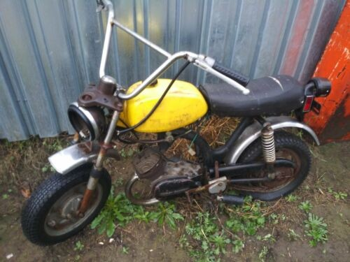1972 Harley-Davidson shortster yellow photo