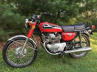 1972 Honda CB 175 Red for sale craigslist
