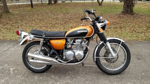 1972 Honda CB  photo