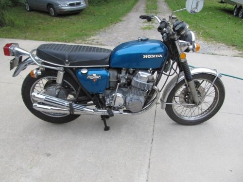 1972 Honda CB Teal photo