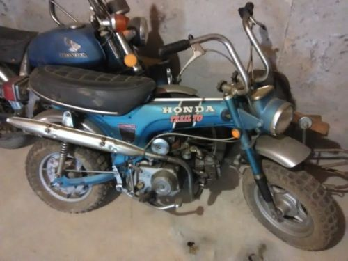 1972 Honda CL Blue photo