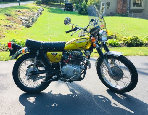 1972 Honda CL Gold photo