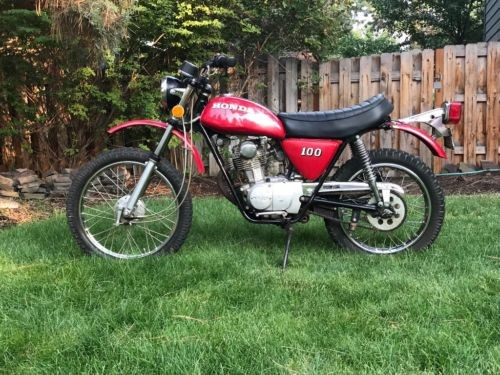 1972 Honda CL Red for sale