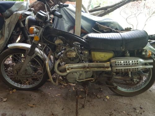 1972 Honda CL Yellow for sale