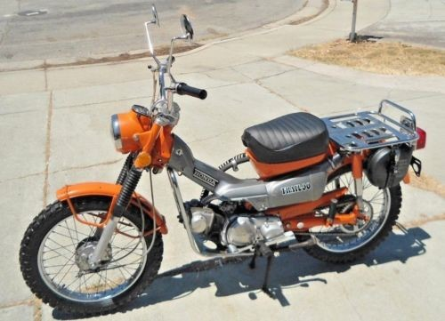 1972 Honda CT Orange/Grey photo