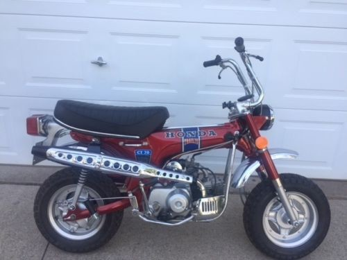 1972 Honda CT Red for sale craigslist
