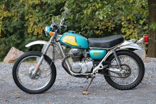 1972 Honda SL350 Teal photo