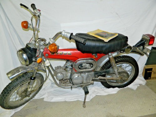 1972 Honda ST90  photo