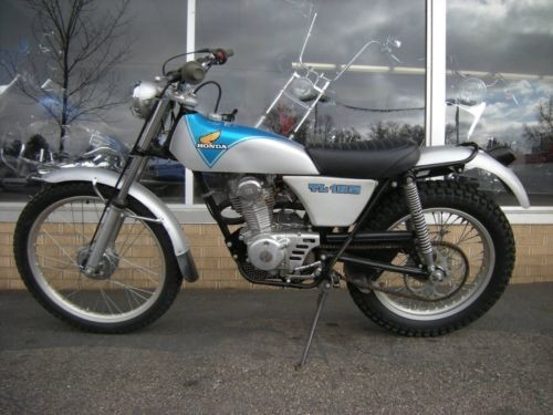 1972 Honda TL125 Blue for sale