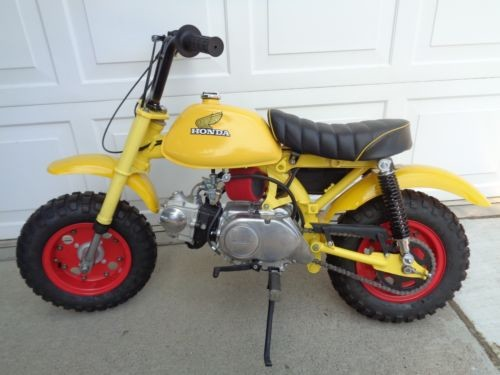 1972 Honda Z50 A yellow for sale craigslist