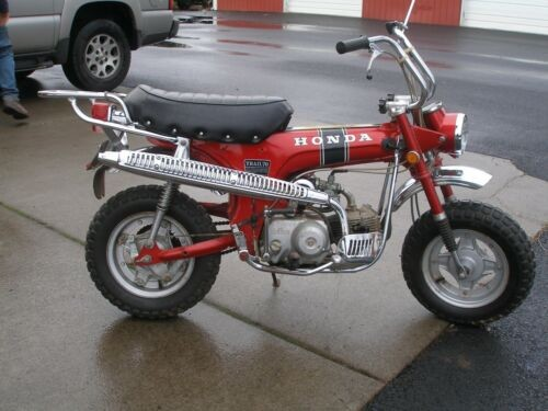 1972 Honda ct70  photo
