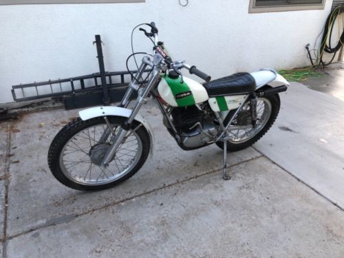 1972 Other Makes Ossa MAR White and green for sale